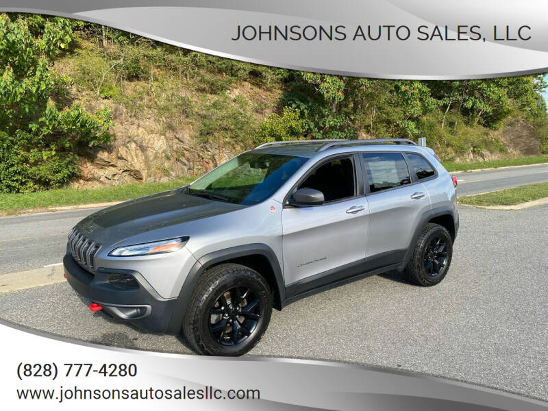 2015 Jeep Cherokee for sale at Johnsons Auto Sales, LLC in Marshall NC