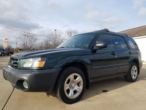 2005 Subaru Forester for sale at CarNation Auto Group in Alliance OH