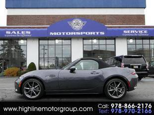 2016 Mazda MX-5 Miata for sale at Highline Group Motorsports in Lowell MA