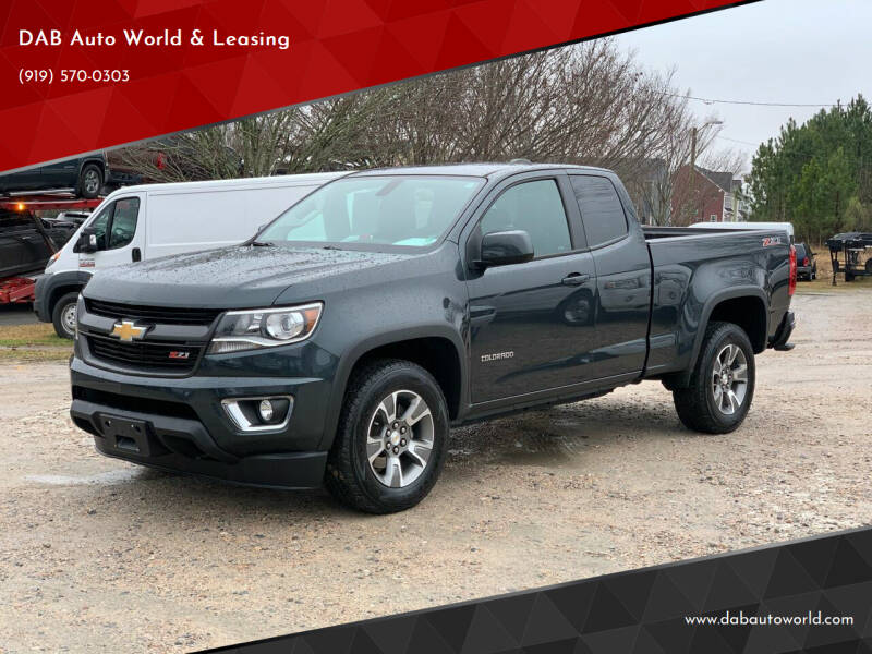 2018 Chevrolet Colorado for sale at DAB Auto World & Leasing in Wake Forest NC