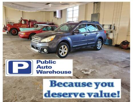 2014 Subaru Outback for sale at Public Auto Warehouse in Pekin IL