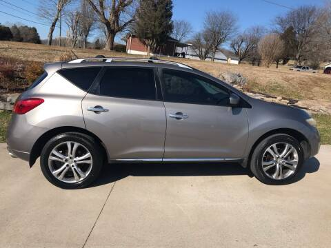 2009 Nissan Murano for sale at HIGHWAY 12 MOTORSPORTS in Nashville TN