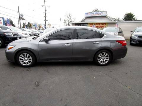 2016 Nissan Altima for sale at American Auto Group Now in Maple Shade NJ