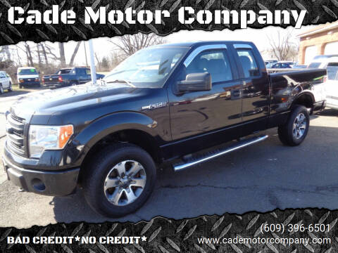 2013 Ford F-150 for sale at Cade Motor Company in Lawrenceville NJ