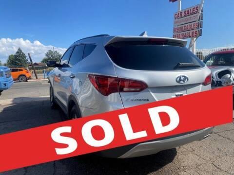 2017 Hyundai Santa Fe Sport for sale at AE Of Miami in Miami FL