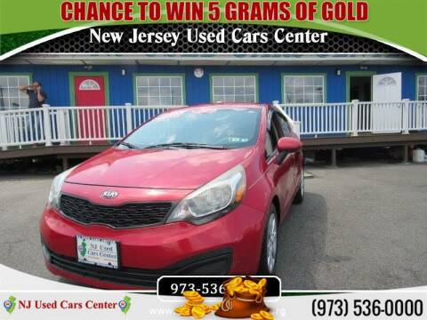 2014 Kia Rio for sale at New Jersey Used Cars Center in Irvington NJ