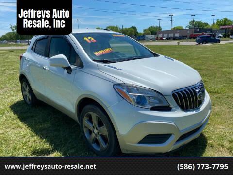 2013 Buick Encore for sale at Jeffreys Auto Resale, Inc in Clinton Township MI