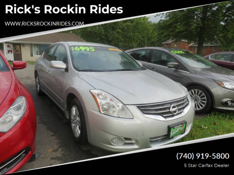 2011 Nissan Altima for sale at Rick's Rockin Rides in Reynoldsburg OH