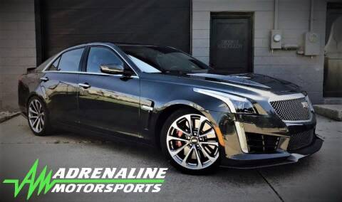 2017 Cadillac CTS-V for sale at Adrenaline Motorsports Inc. in Saginaw MI