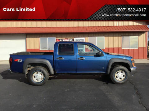 2006 Chevrolet Colorado for sale at Cars Limited in Marshall MN