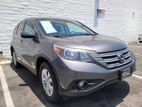 2014 Honda CR-V for sale at ADVANTAGE AUTO SALES INC in Bell CA