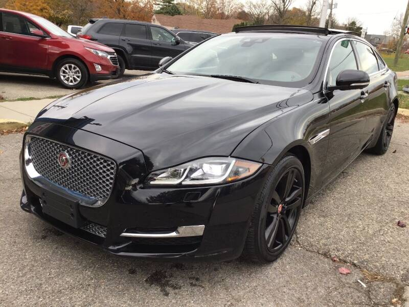2018 Jaguar XJL for sale at One Price Auto in Mount Clemens MI