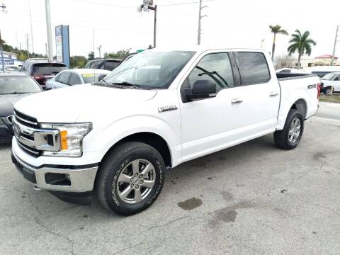 2019 Ford F-150 for sale at P S AUTO ENTERPRISES INC in Miramar FL