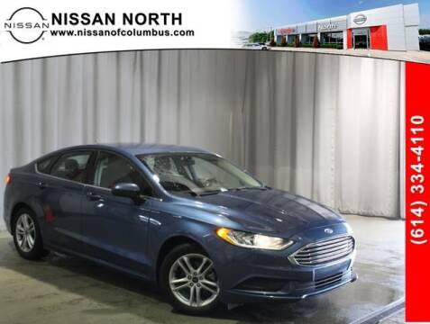 2018 Ford Fusion for sale at Auto Center of Columbus in Columbus OH