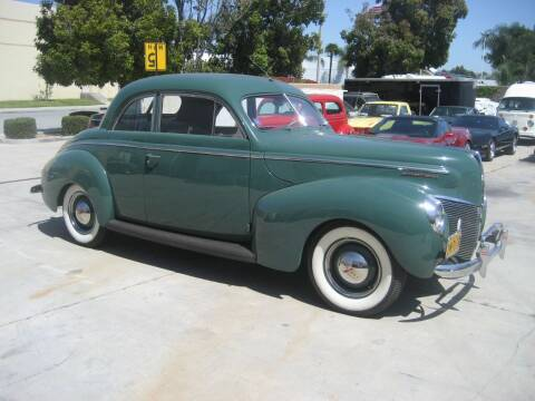 1940 Mercury 2 Door Coupe for sale at HIGH-LINE MOTOR SPORTS in Brea CA