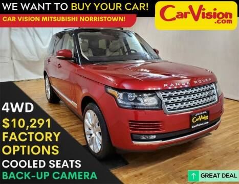 2017 Land Rover Range Rover for sale at Car Vision Mitsubishi Norristown in Trooper PA