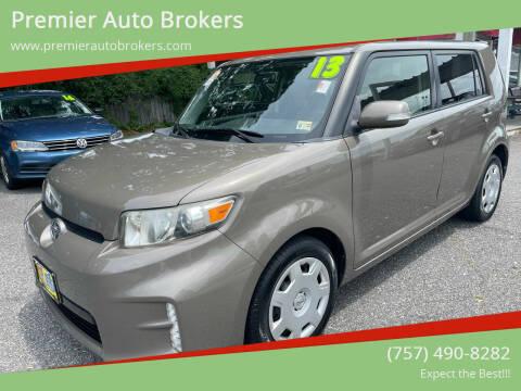 2013 Scion xB for sale at Premier Auto Brokers in Virginia Beach VA