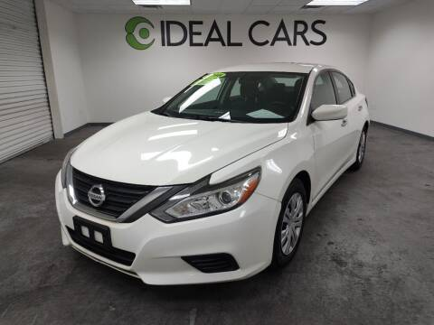 2016 Nissan Altima for sale at Ideal Cars Broadway in Mesa AZ