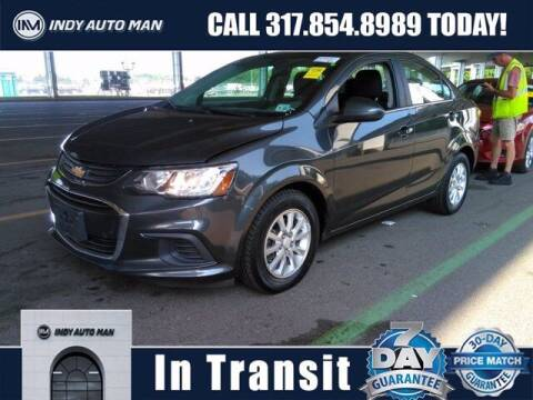 2017 Chevrolet Sonic for sale at INDY AUTO MAN in Indianapolis IN