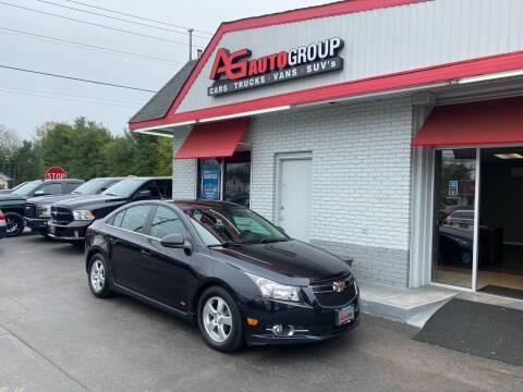 2014 Chevrolet Cruze for sale at AG AUTOGROUP in Vineland NJ