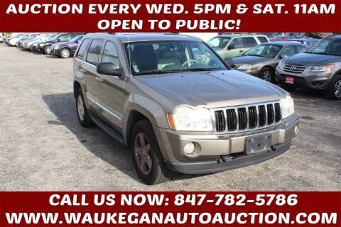 2005 Jeep Grand Cherokee for sale at Waukegan Auto Auction in Waukegan IL