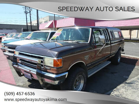 1990 Ford F-250 for sale at Speedway Auto Sales in Yakima WA