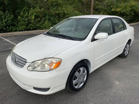2004 Toyota Corolla for sale at Bells Auto Sales in Austin TX
