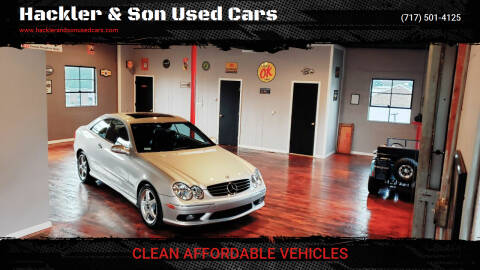 2004 Mercedes-Benz CLK for sale at Hackler & Son Used Cars in Red Lion PA