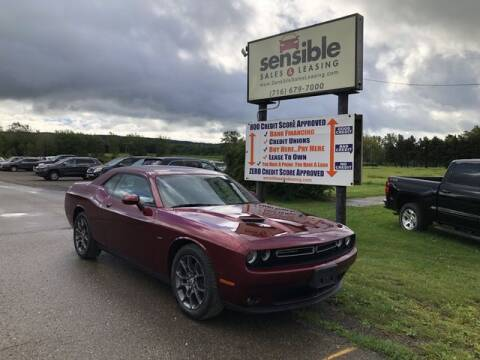2018 Dodge Challenger for sale at Sensible Sales & Leasing in Fredonia NY