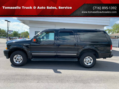 2003 Ford Excursion for sale at Tomasello Truck & Auto Sales, Service in Buffalo NY