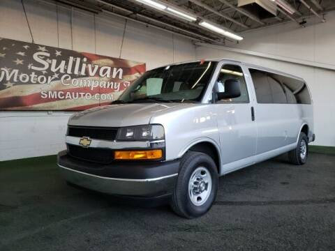 2019 Chevrolet Express Passenger for sale at SULLIVAN MOTOR COMPANY INC. in Mesa AZ