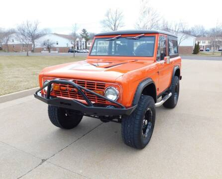 1974 Ford Bronco for sale at WEST PORT AUTO CENTER INC in Fenton MO