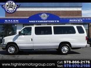 2012 Ford E-Series Wagon for sale at Highline Group Motorsports in Lowell MA