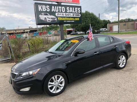 2012 Kia Optima for sale at KBS Auto Sales in Cincinnati OH