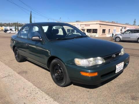 1995 Toyota Corolla for sale at Ricos Auto Sales in Escondido CA