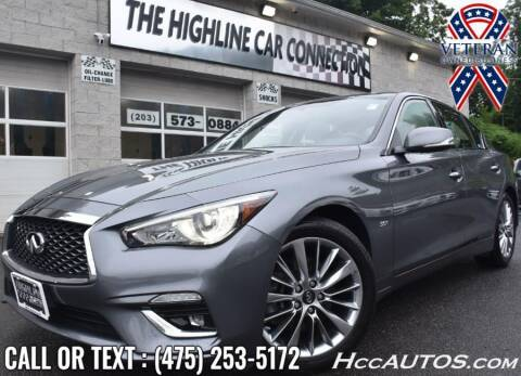 2018 Infiniti Q50 for sale at The Highline Car Connection in Waterbury CT