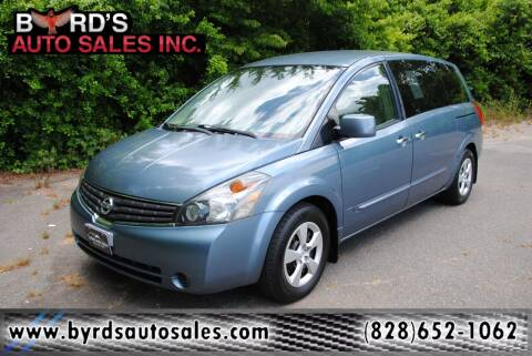 2009 Nissan Quest for sale at Byrds Auto Sales in Marion NC