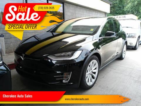 2017 Tesla Model X for sale at Cherokee Auto Sales in Acworth GA