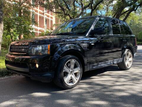 2012 Land Rover Range Rover Sport for sale at Motorcars Group Management - Bud Johnson Motor Co in San Antonio TX