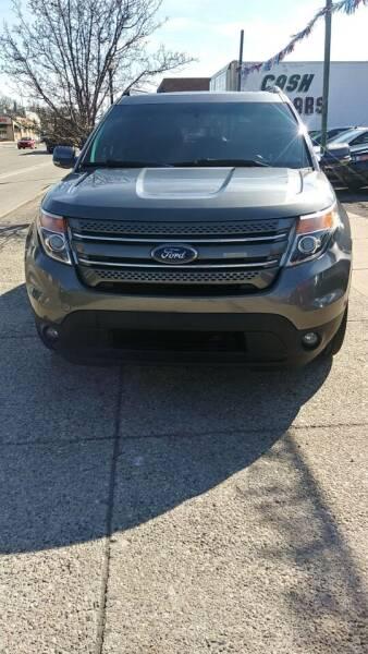 2012 Ford Explorer for sale at Jarvis Motors in Hazel Park MI