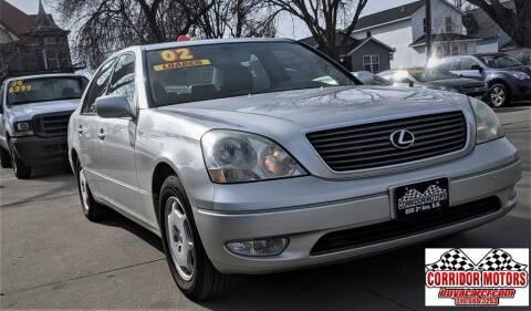 2002 Lexus LS 430 for sale at Corridor Motors in Cedar Rapids IA