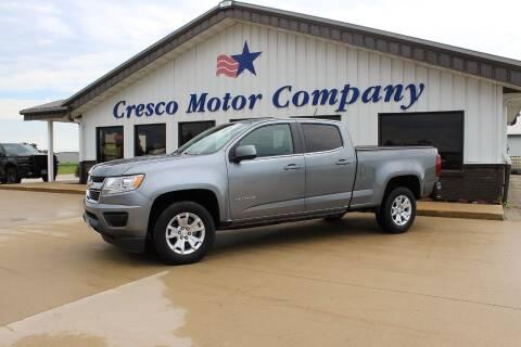 2020 Chevrolet Colorado for sale at Cresco Motor Company in Cresco IA