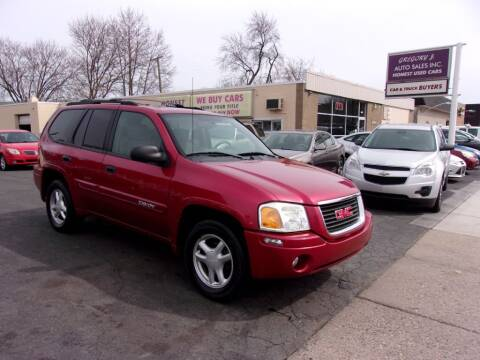 2004 GMC Envoy for sale at Gregory J Auto Sales in Roseville MI