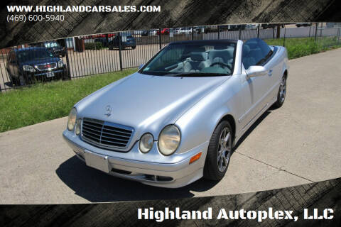 2003 Mercedes-Benz CLK for sale at Highland Autoplex, LLC in Dallas TX