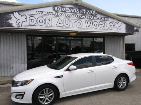 2014 Kia Optima for sale at Don Auto World in Houston TX