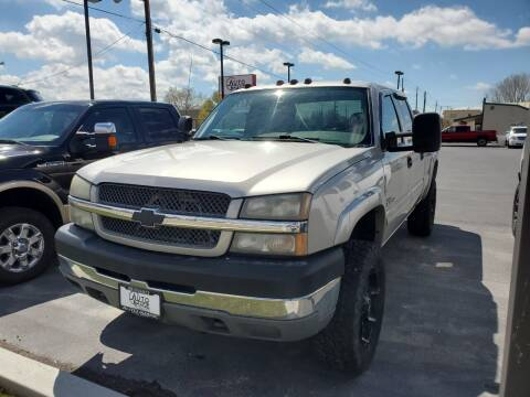 2004 Chevrolet Silverado 2500HD for sale at Auto Image Auto Sales Chubbuck in Chubbuck ID