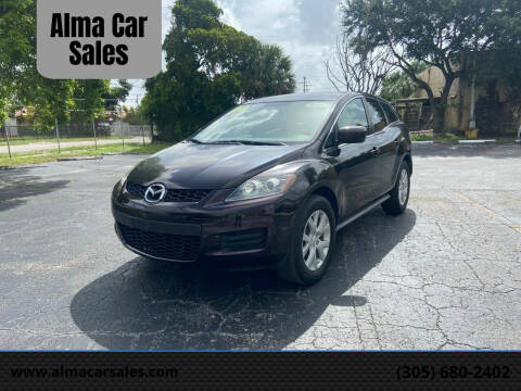 2008 Mazda CX-7 for sale at Alma Car Sales in Miami FL