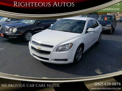 2012 Chevrolet Malibu for sale at Righteous Autos in Racine WI