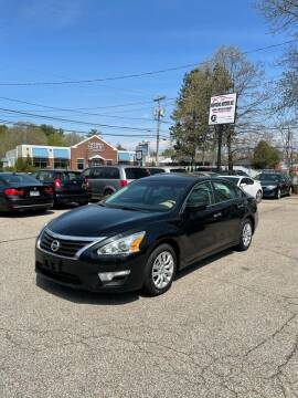 2015 Nissan Altima for sale at NEWFOUND MOTORS INC in Seabrook NH