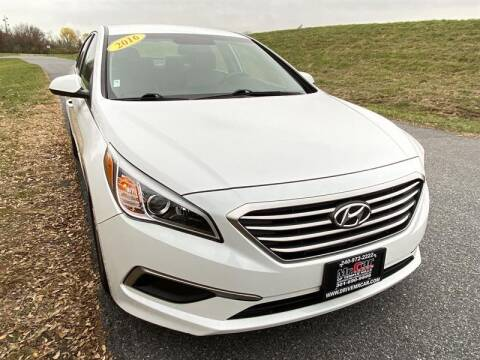 2016 Hyundai Sonata for sale at Mr. Car City in Brentwood MD